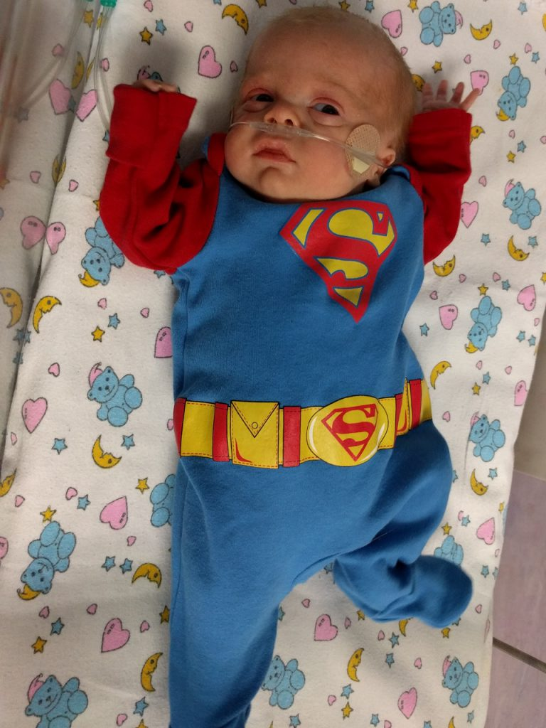 Henry's going home outfit!